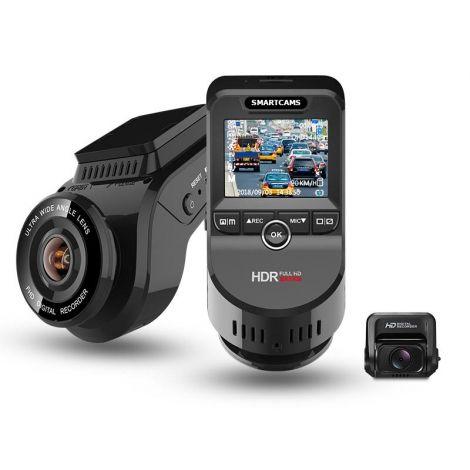WIDEOREJESTRATOR SMARTCAMS 4K DUAL PRO GPS WIFI