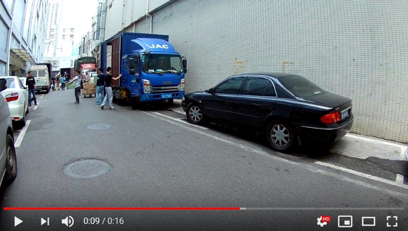 obraz wideo z kamerki samochodowej wideorejetratorów jazdy JSE 4K Ultra